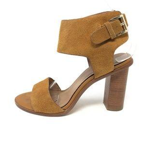 Joie OPAL 37.5 Suede Ankle Strap Heel Sandal 7